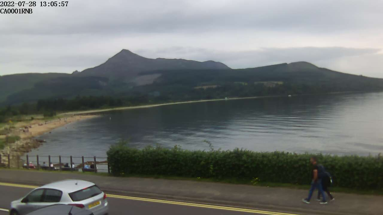 Arran, SW Scotland - Webcam Image